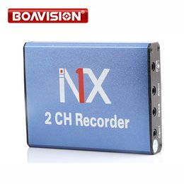 New Syle hd 2ch Mini DVR Home car Used 2 channel DVR Motion Detect With 2 Cameras Working Simultaneously Support 128gb SD Card