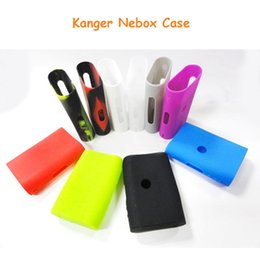New Ecig Silicone Case Bag Colorful Rubber Sleeve Protective Cover Silica Gel Skin for Kanger Nebox Kit