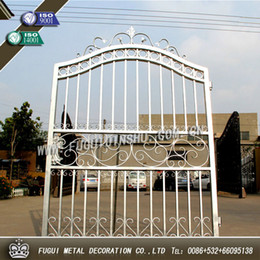 Wholesale Galvanized Main house iron gate design