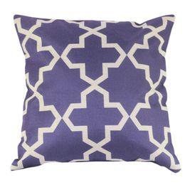 Wholesale-1 Pieces Quality Woven Square New Composite Linen Blend Pillow Case Throw Body Pillow Bed Home Textile