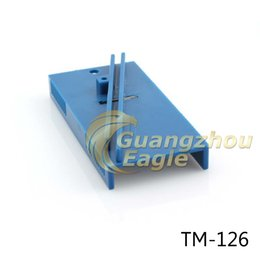Wholesale cm scraper repair tool Plastic blue squeegee trimmer Hard Card Sharpening Tool for vinyl application