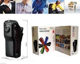 Acheter en ligne Caméscopes mini--Spy Enregistreur vidéo Caméscope numérique Mini enregistreur vocal MD80 Mini DV 720P Casque HD DVR Beaucoup de couleurs