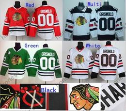 2016 Le vendeur paie / Livraison gratuite Chicago Blackhawks Jersey de hockey # 00 Clark Griswold Jersey série de stade blanc Stitched Jerseys Chine Selle à partir de série de hockey fabricateur