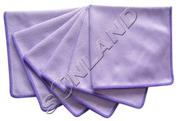 Wholesale 6pcs cmx40cm Microfiber Polishing Cleaning Towels Glass Stainless Steel Shine Cloth Window Cloth