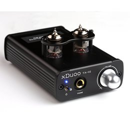 Wholesale XDUOO TA High Performance Stereo Tube Headphone Amplifier Dual Tube AMP Class A BUF