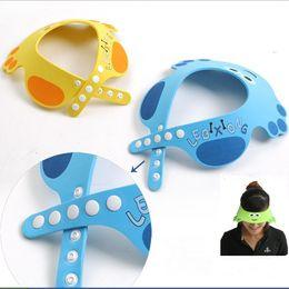 Wholesale Fashion Adjustable Soft Baby Kid Child Cute Cartoon Safe Shampoo Bath Shower Cap Hat Wash Hair Eye Shield