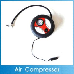 Wholesale 260PSI Tire Styling Hot Mini Portable Car Air Compressor DC V Pump Electric Tire Inflater Auto Pumps supplies Freeshipping M45449