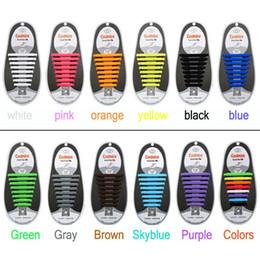 Wholesale 16PCS PAIRS calzan los zapatos de calidad superior del zapato del silicón de las mujeres de los hombres del coolnice ningunos cordones del lazo para todos los runningshoes de las sandalias de la zapatilla de deporte del tamaño shippin libre