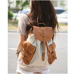 Women bags Backpack Girl School Fashion Shoulder Bag Rucksack Canvas Travel bag New 2014