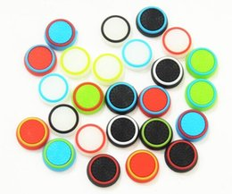 Rubber Silicone Joystick Cap Thumb Stick Joystick Grip Grips Caps For PS4 PS3 Xbox one 360 Controller DHL FEDEX EMS FREE SHIPPING
