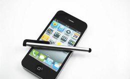 Promotion écran tactile pour samsung Stylet universel stylo à écran tactile pour ipad iphone Samsung HTC capacitif écran tactile Tablet PC 10 couleurs 1000pcs 2000pcs 3000pcs 5000pcs