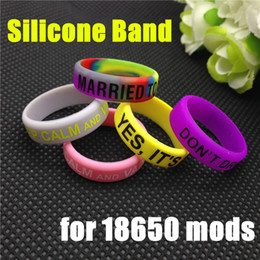 silicon rubber band vape ring for mechanical mods decorative and protection vape mod resistance rubber vape bands non-slip band mods rda rba