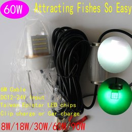 Wholesale Fishing Lure Night of Desirable Objects W DC12V to DC24V Fishing Lure Spoon Fishing Lure Set Lead PC AL Meters Cable