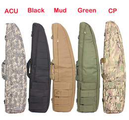 Wholesale-Tactical Gun Bag 1.2M Heavy Duty Tactical Gun slip Bevel Carry Bag Rifle Case Shoulder Pouch for Hunting