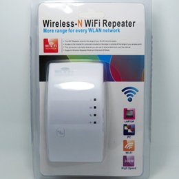 Wholesale Wireless Wifi Repeater N B G Network Wifi Router Expander Antenna Wifi Signal Amplifier Wifi