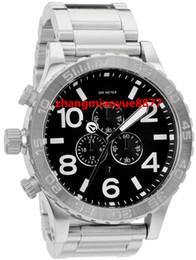 Wholesale NX Mens CHRONO Silver Black A083 A083000 Chronograph Authentic Watch