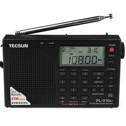 Wholesale TECSUN PL ET DSP World Band Radio Receiver With ETM ATS FM MW SW LW Y4120A