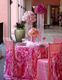 Transparent Acrylic Table Centerpiece for Decoration