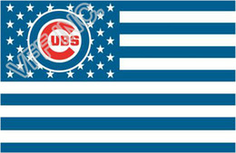 Wholesale Chicago Cubs Flag MLB Major League Baseball ft x ft Polyester Banner Flying cm Custom flag sport helmet CC5
