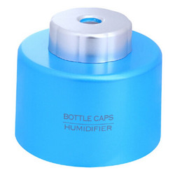 Wholesale New Arrive USB Portable ABS Water Bottle Cap Mini Humidifier DC V Office Air Diffuser Aroma Mist Maker Absorbent Filter Sticks