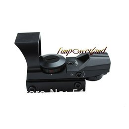 Funpowerland Tactical Red & Green Dot Sight with 21mm Rail Mount