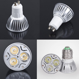 High power CREE Led Lamp 9W Dimmable GU10 MR16 E27 Led spot Light Spotlight led bulb downlight lighting