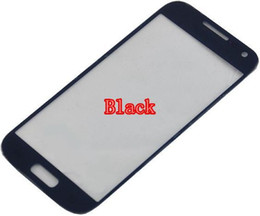 Wholesale-s4 mini Outer lens front glass for Samsung Galaxy S4 mini i9190 s4 mini glass free shipping with logo