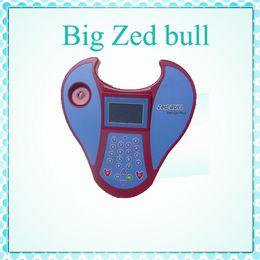 2015 zedbull grande de la alta calidad Nuevo programador dominante del toro del Zed Herramienta de programación dominante del transpondor del coche de Zed-Bull de DHL Envío rápido desde toro de la zeta llave del coche programador fabricantes