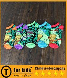 Wholesale Ninja turtle cartoon kids cotton boys girls Socks Christmas gifts for children Child Clothes Kids Sock Baby Boys Grils Socks Children Socks