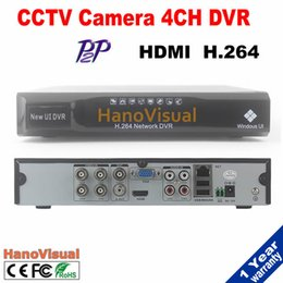 Wholesale 4ch DVR With HDMI CH D1 H P2P Motion Detect CH Audio Suppot Remote Review PTZ iPhone Android For CCTV Camera Motion Detect