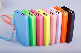Free shipping New Mobile Phone Power Bank 5600mAh Universal External Battery Charger Powerbank For all mobile phone 6 color