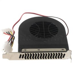 Wholesale High Quality Power Cord Included Turbine System Exhaust Slot Fan Blower with Power Cord Cooler for PC CPU Case