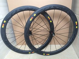 Wholesale New Design U shape mm carbon road bicycle wheels with ED hub degree on brake track with better braking performance