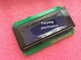 Wholesale LCD x4 Character LCD Display Module HD44780 Controller blue screen backlight forarduino
