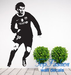 Wholesale Lionel Messi Footballer Children s Bedroom Decal Wall Art Sticker Picture size cm