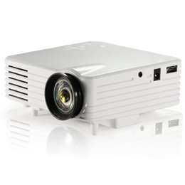 Wholesale Video Projector Full HD Digital Cinema Projectors LCD LED Light Engine Best Home Projector for Movie Black White Colors GP7S