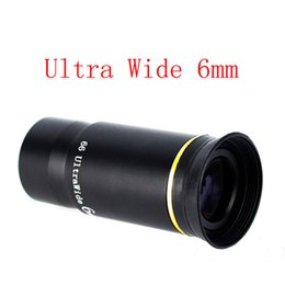 Wholesale 1 quot Ultra Wide Angle Eyepiece Lens MM Degree Fully Multi Coated Broadband Green For Astronomical Telescope W2143A6