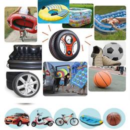 Wholesale 260PSI DC12V Mini Tire Inflator Air Compressor Car Auto Portable Pump CEC_007