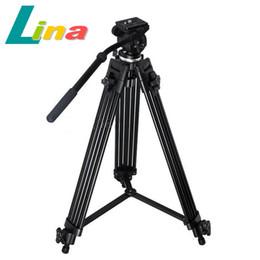 1.35M Pro Trépied pour vidéo lourde WF-717 + Fluid Pan Panning Head + Poignée + Sac de transport pour caméra Dslr Caméscope DV à partir de dslr video pro fournisseurs