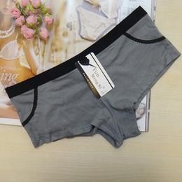 Quick delivery lady panties pocket lady boxer short cotton women temperament interest underwear thong lingerie intimate girl boyleg M L XL