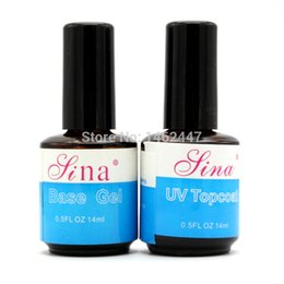 Wholesale prices for a clearance sale ml Top Coat Base UV Gel Acrylic Nail Art Polish Gloss Seal Glaze Faster Primer