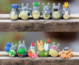 PrettyBaby 12pcs Anime Figure Hayao Miyazaki Toy Totoro Anime PVC Miniature Action Figures Kids Toys my neighbor totoro pvc figures in stock