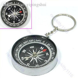 """Wholesale-B86""""Compass Camping Hiking Hunting Key Chain Ring Survival"""