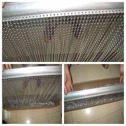 Wholesale Decorative aluminium chain curtains for door