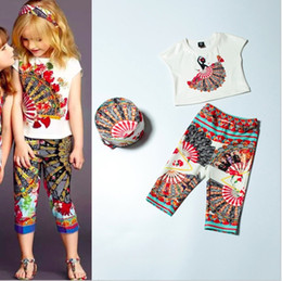 Wholesale-mommy and me outfits family look girl and mother mom daughter set new 2015 top fashion quality print family clothing