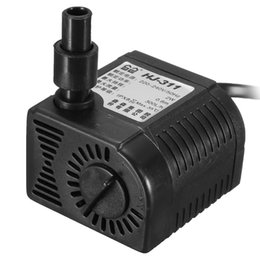 Wholesale New GPH W Adjustable Aquarium Fish Tank Mini Submersible Pump With Suckers Hot Sale