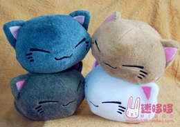 Wholesale Fashion dolls Genuine Japan Anime anmial sleeping cat plush pillow for girlfriend soft doll birthday gift toys for children
