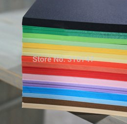 Wholesale quot quot DIY Colorful Cardboard For Scrapbook DIY Album Card Paper Background Paper
