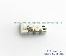 Wholesale beautiful charms love FC1037 floating locket charms for floating living locket as gift wholesales