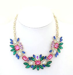 Wholesale 2014 rushed special offer bohemia women resin plant necklaces european and american fashion fresh sweet necklace